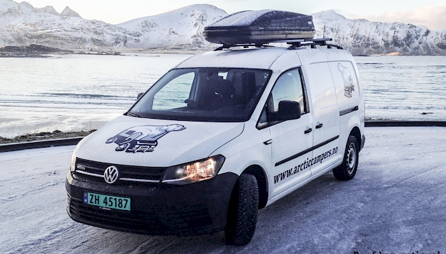 4x4 camper rental Norway