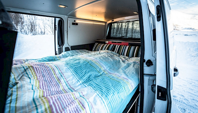 Camper van rental Norway