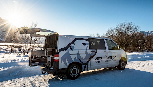 Winter camper hire