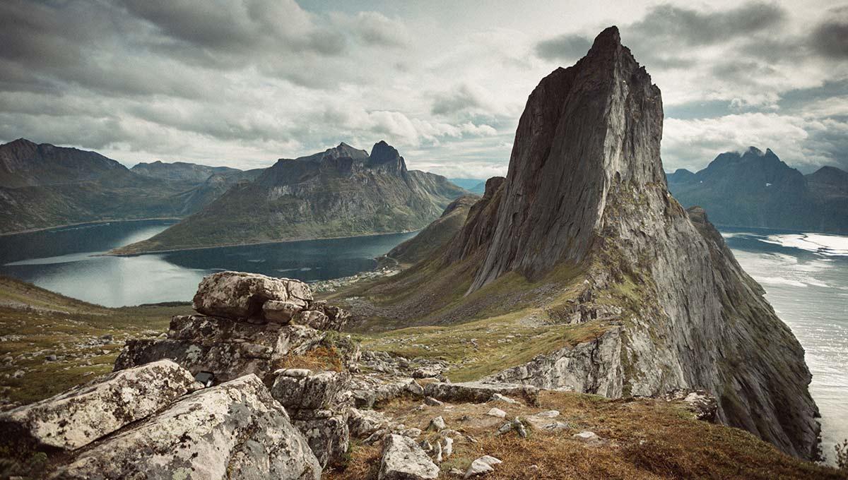 Hiking Segla in Senja Norway